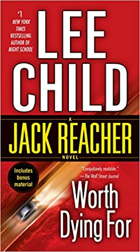 Worth Dying For, Lee Child logo